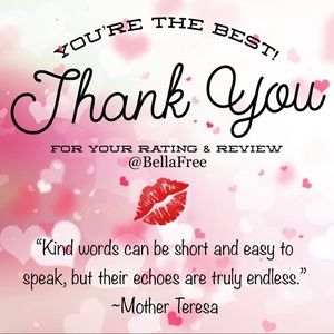 ✨ Thank You, From @BellaFree ✨